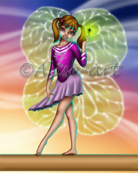 Commission - Fairy Flore - Good Luck Charm