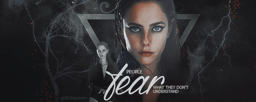 People fear what they don't understand - Kaya sig by gh0stqueen