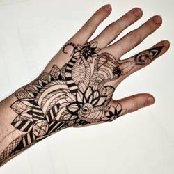 Henna kind of by DarkBrushBrony