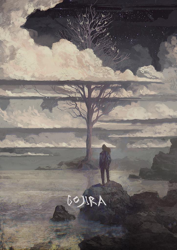 Gojira - L'Enfant Sauvage by Kurobot