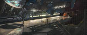 Hangar 107 by Kurobot