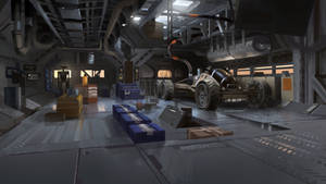 Mars Station Maintenance Room