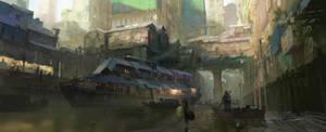 Slum Boat by Kurobot