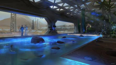 Mars Station | Bioluminescence Garden by Kurobot