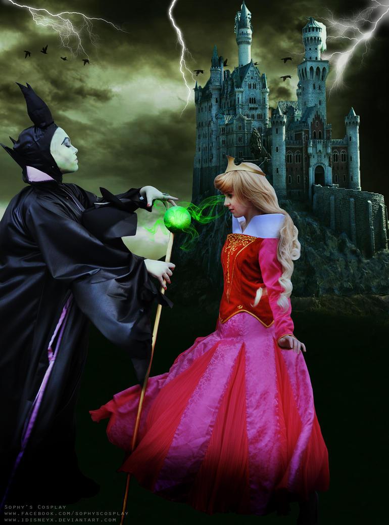Aurora and Maleficent by iDisneyx on DeviantArt