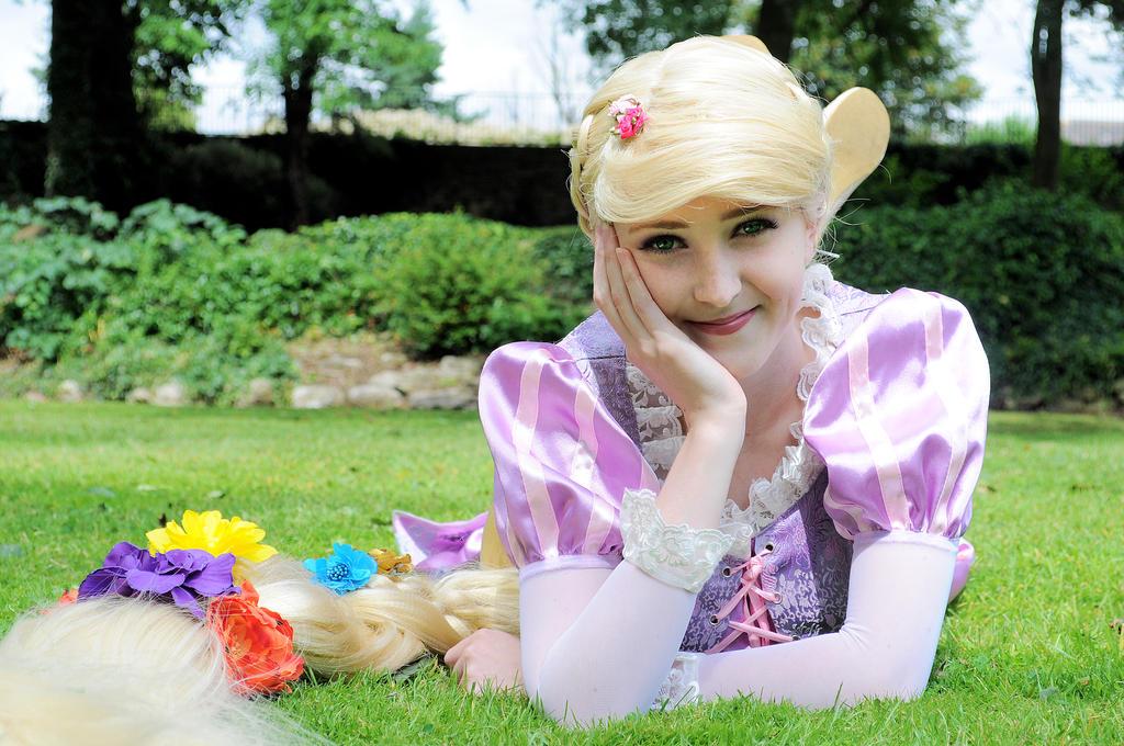 Rapunzel from Tangled by iDisneyx