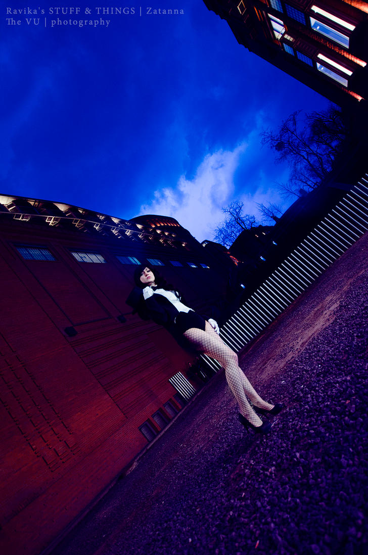 Gotham Nights with Zatanna by theonlyVU