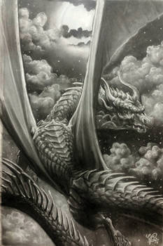 'Night Dragon II' (Scale study) 2017
