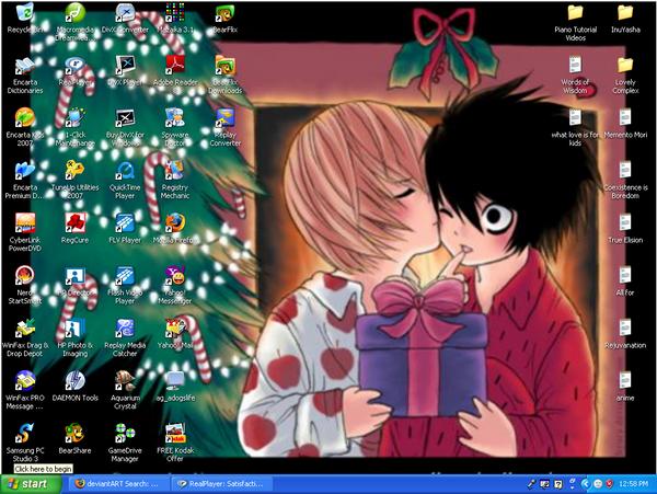 Death Note Christmas Wallpaper By Aestheticbreezydoll On Deviantart