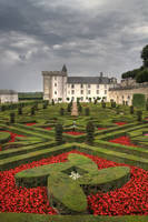 Villandry - Jardins des Amours by Eusebius-fr