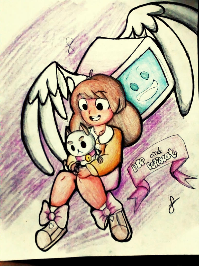 bee and puppycat color by spirovefrfrv