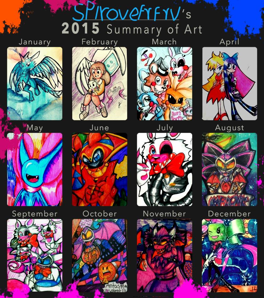 2015 Summary of Art Meme by spirovefrfrv