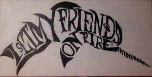 I Set My Friends On Fire logo by SoCUTEicleNails