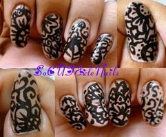 Henna Nails by SoCUTEicleNails
