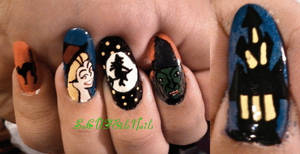 Witch Nails by SoCUTEicleNails