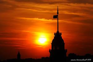 kIz ve galata kulesi by bayugly