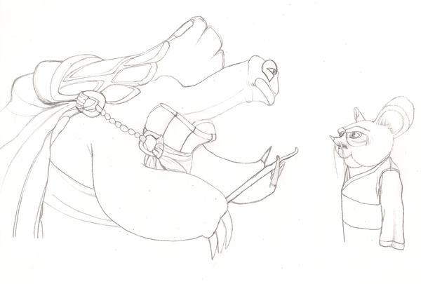 master shifu coloring pages - photo#29