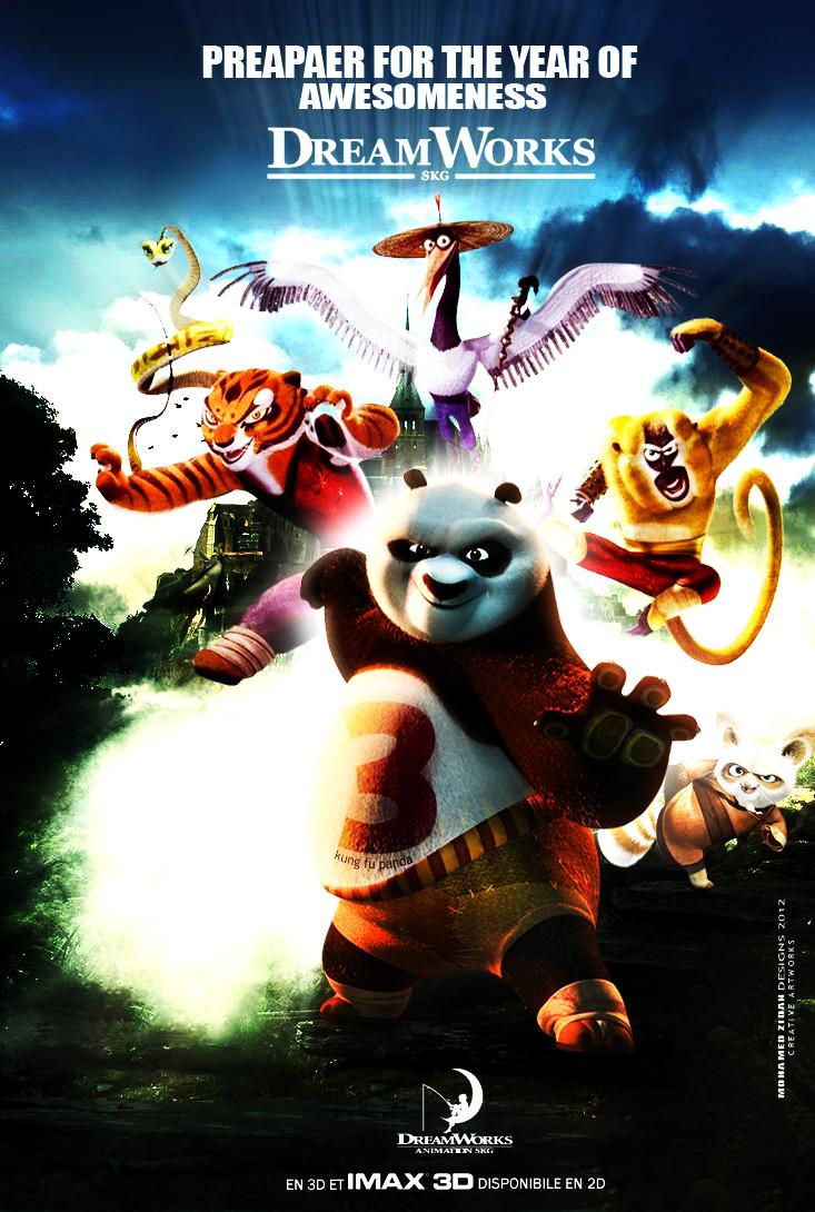 Kung fu panda 3 by MohamedZidanART