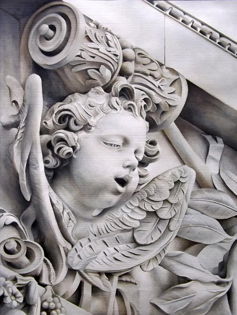 Cherub II - St Paul's Chatedral, London, UK by ElNido