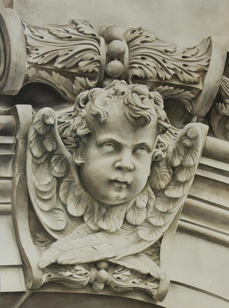 Cherub V - St Paul's Cathedral, London by ElNido
