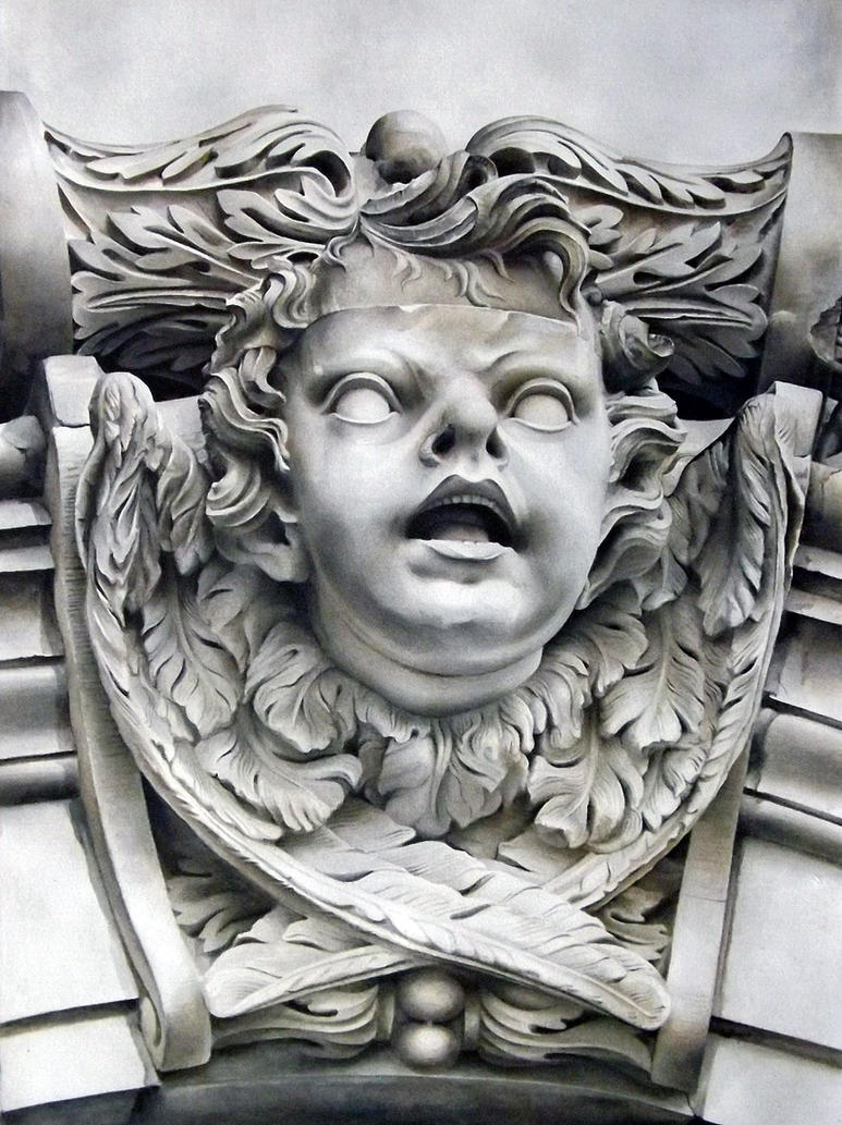 Cherub IV, St. Paul's Cathedral, London, UK. by ElNido