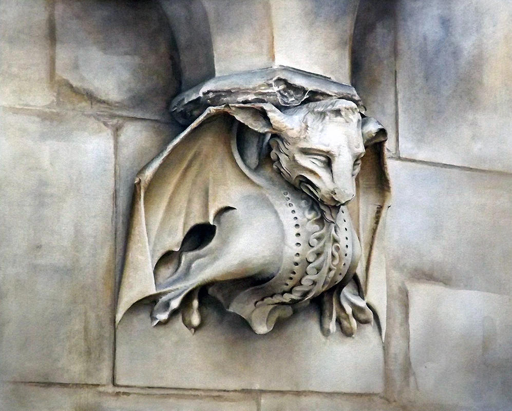 The Bat  - Westminster Abbey by ElNido