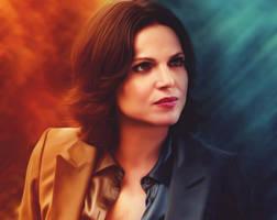 Regina the evil Queen by xantishax277