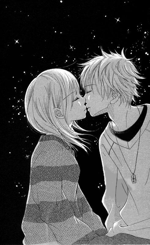 Anime Kiss By Lela44 On Deviantart