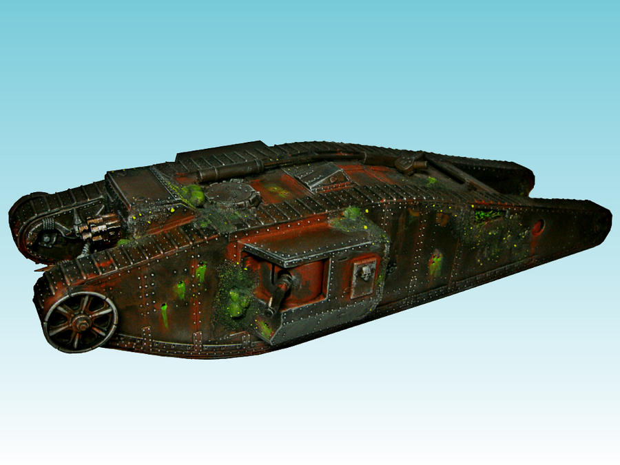 Nurgle Heavy Landraider by Nergling
