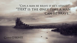 Game of Thrones quote wallpaper