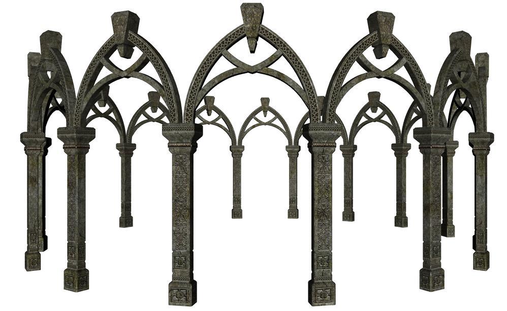 gazebo arch by stock-cmoura