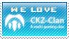 We Love CKZ Clan Stamp by ADDOriN