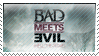 Bad Meets Evil Stamp by ADDOriN