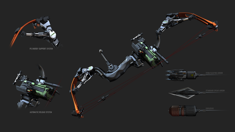 Crysis 3 - Predator Bow by ADDOriN
