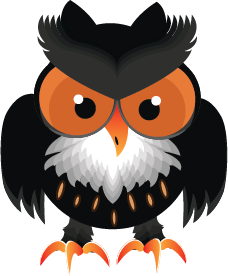 Owl Cartoon Halloween by doctrina-kharkov