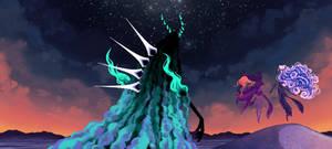 AA: March of the Dark God by Tara-Elani