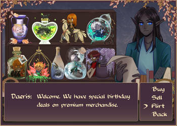 Ye Olde Shoppe of Birthday Delights