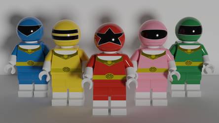 LEGO Zeo Rangers