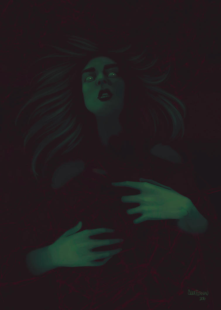 Ophelia by alexpernau