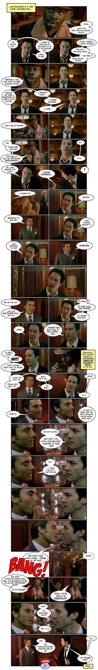 Constantine Webcomic - Part II by TheFlyingBeet