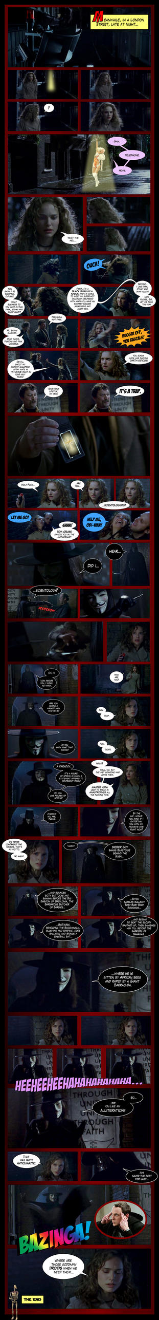 My V for Vendetta Webcomic by TheFlyingBeet
