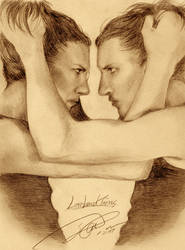 Lombard twins portrait by ninecats69