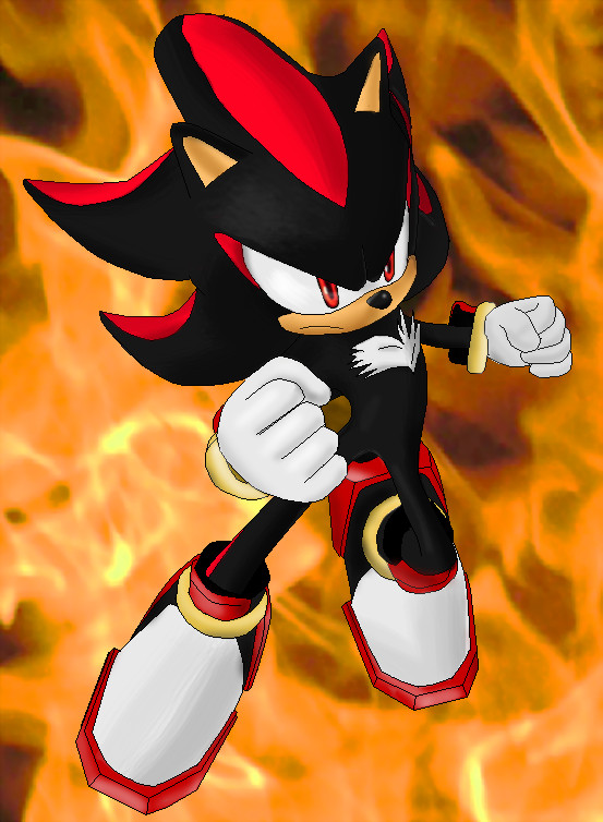 Shadow The Hedgehog by Metal-Overlord on DeviantArt