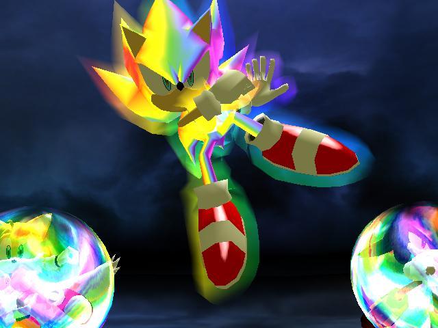Sonic Heroes Hack Super Sonic