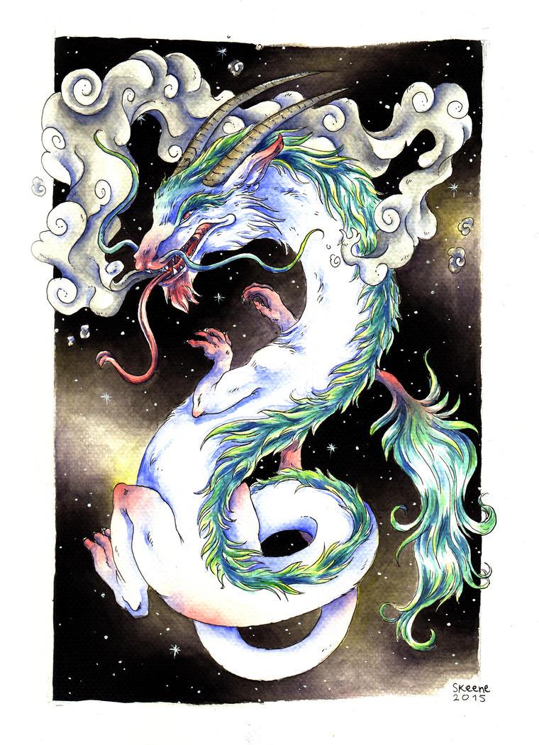 Dragon by Pascalou