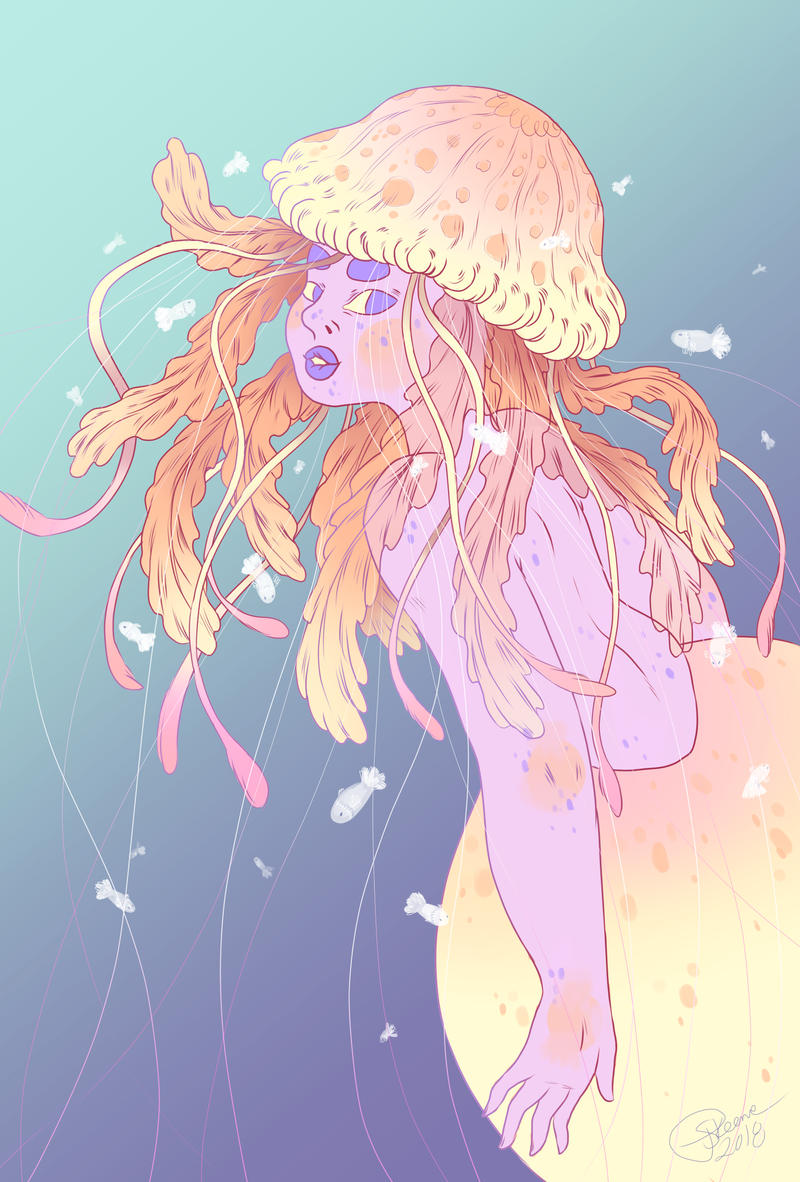 Mermay 01: Jellyfish by Pascalou