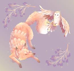 Owl n Fox Commission