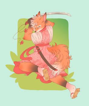 Samurai Fox Custom
