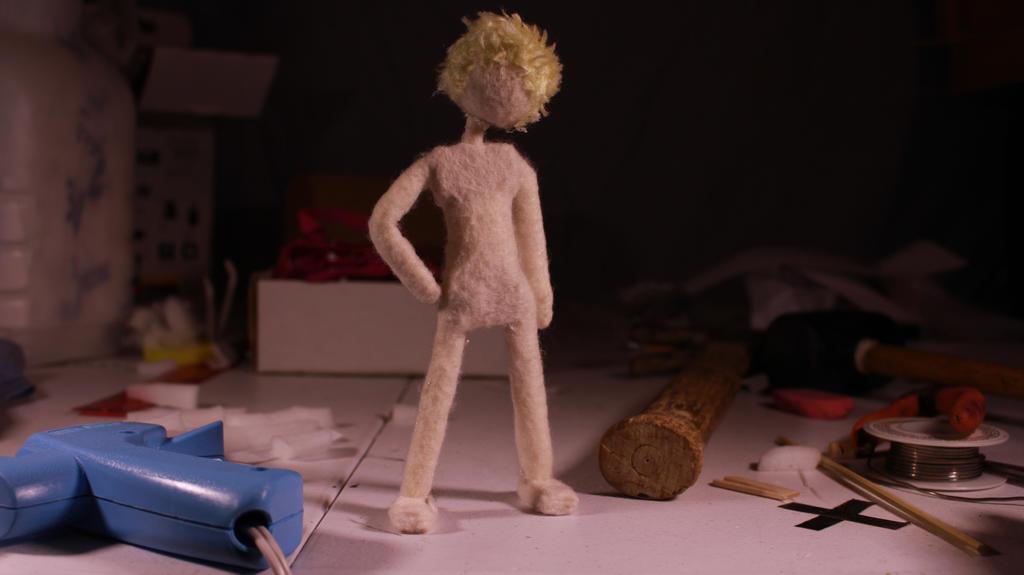 Alex stop motion puppet pose1 by JMFAnimations8