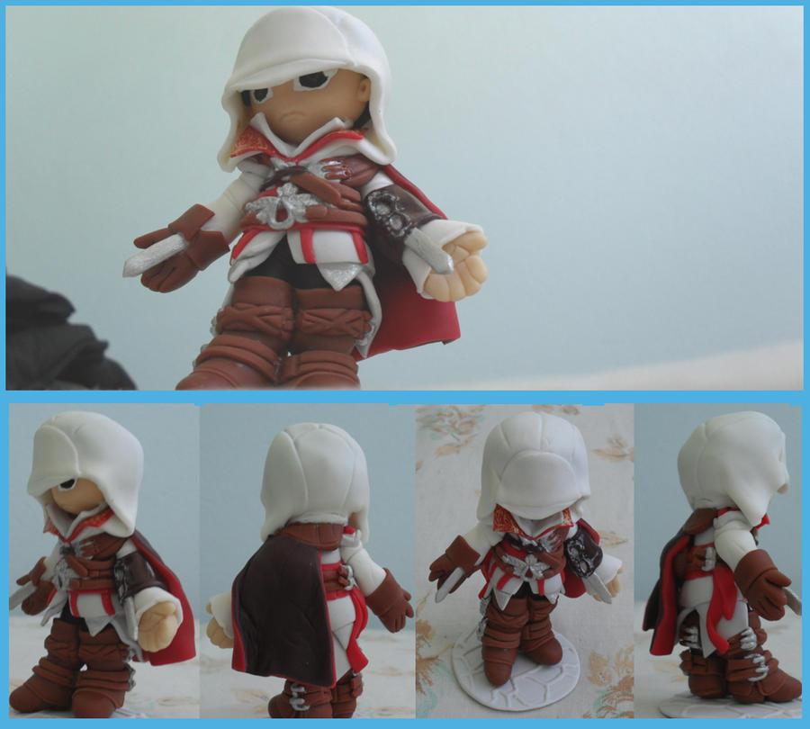 chibi Assassins Creed 2 by AndressaYokoGohan